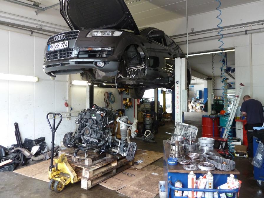 Austauschgetriebe München | Austausch Automatik-Getriebe